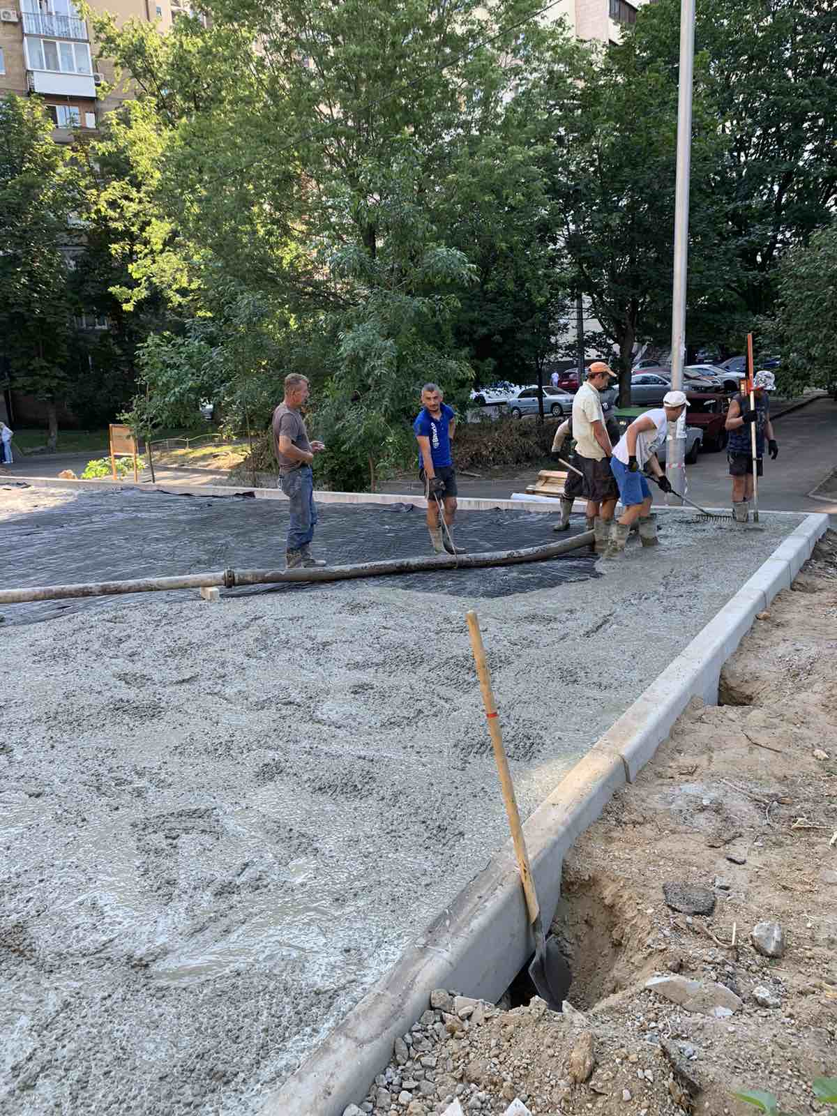 Заливка бетона цены бетонные смеси требования