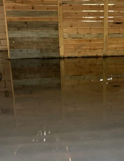 Заливка бетонного пола в гараже. Цена (стоимость). Заказать. Пример работы.