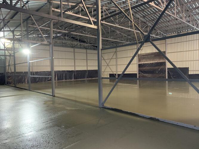 Залитая стяжка бетонного пола 2